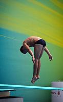Stup<br /> VM 2011 Shanghai Kina<br /> 18.07.2011<br /> Foto: Gepa/Digitalsport<br /> NORWAY ONLY<br /> <br /> FINA Weltmeisterschaften 2011, Kunstspringen, 1m Brett der Herren. Bild zeigt Amund Gismervik (NOR)