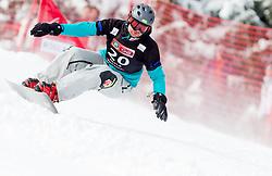 Rok Flander of Slovenia during FIS Snowboard World Cup Rogla 2013 in Parallel Giant slalom, on February 8, 2013 in Rogla, Slovenia. (Photo By Vid Ponikvar / Sportida.com)