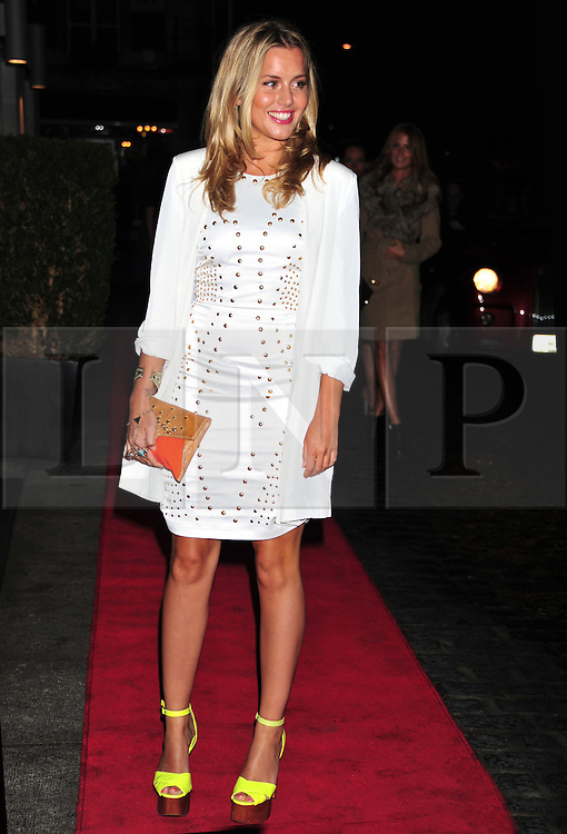 © Licensed to London News Pictures. 18/01/2012. London, England. Caggie Dunlop attends the Daily Mail Inspirational Women awards 2012 at the Marriot Grosvenor Hotel London  Photo credit : ALAN ROXBOROUGH/LNP