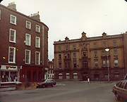 Old Dublin Amature Photos December 1983 WITH, Westland Row, Lincoln Place, Merrion Hall, Prices medicine hall, Fenian St,