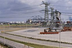 Rotterdam harbour, Europoort, Netherlands Maasvlakte