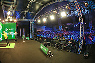 View from the main stage during the PDC Darts Players Championship at  at Butlins Minehead, Minehead, United Kingdom on 26 November 2017. Photo by Shane Healey.