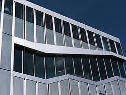 Exterior of Netherlands Embassy designed by Rem Koolhaas in Mitte Berlin Germany