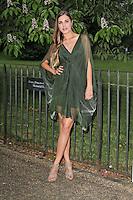 LONDON - JUNE 26: Amber Le Bon attended the Serpentine Gallery summer party, Kensington Gardens, London, UK. June 26, 2012. (Photo by Richard Goldschmidt)