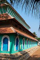 Inde, Etat du Kerala, Calicut ou kozhikode, la mosquee Kuttichira // India, Kerala state, Calicut or kozhikode, Kuttichira mosque