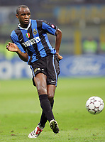 """Patrick Vieira (Inter)<br /> Champions League 2006/07 Group Stage Group B <br /> 18 Oct 2006 (match day 3)<br /> Inter-Spartak Mosca 2-1<br /> """"Giuseppe Meazza"""" Stadium-Milano-Italy<br /> Photographer Luca Pagliaricci Inside"""