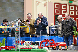 © Licensed to London News Pictures. 17/01/2020. London, UK. Enthusiasts and hobbyists visit the annual London Model Engineering Exhibition at Alexandra Palace in north London. Clubs and societies are exhibiting spectrum of modelling from traditional model engineering, steam locomotives and traction engines through to the more modern gadgets including trucks, boats, aeroplanes and helicopters with nearly 2,000 models constructed by their members. Photo credit: Dinendra Haria/LNP