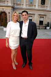 CEM & CAROLINE HABIB at the Royal Academy of Art Summer Exhibition Preview Party on 4th June 2008.<br /><br />NON EXCLUSIVE - WORLD RIGHTS