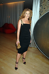 KELLY HOPPEN at an Evening at Sanderson in Aid of CLIC Sargent held at The Sanderson Hotel, 50 Berners Street, London W1 on 15th May 2007.<br />