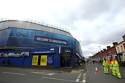 A general view of Goodison Park, home of Everton - Mandatory by-line: Robbie Stephenson/JMP - 31/03/2018 - FOOTBALL - Goodison Park - Liverpool, England - Everton v Manchester City - Premier League