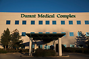 Durant Medical Complex in Durant, Oklahoma on January 27, 2017.  (Cooper Neill for The New York Times)