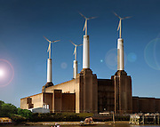 Ecotities, Powerstations for a greener future. Andy Spain Architectural Photography