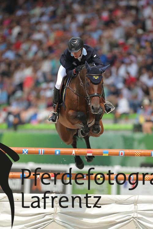 Zettermann, Alexadner, Cafino<br /> Normandie - WEG 2014<br /> Springen - Finale III<br /> © www.sportfotos-lafrentz.de/ Stefan Lafrentz