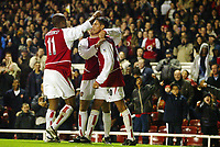 Fotball, 2. desember 2003, Carling Cup, Arsenal-Wolverhamton 5-1, Jeremie Aliadiere, Arsenal