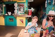 Mermaid's Cafe in Kapa'a, Hawaii has fresh, delicious mexican food with a Hawaiin twist.