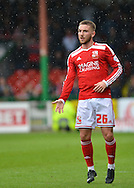 Swindon Town's Anton Rodgers during the Sky Bet League 1 match between Swindon Town and Leyton Orient at the County Ground, Swindon, England on 3 May 2015. Photo by Mark Davies.