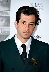 Mark Ronson attending the Music Industry Trusts Award in aid of charities Nordoff Robbins and Brit Trust at the Grosvenor House Hotel, London. PRESS ASSOCIATION Photo. Picture date: Monday November 6, 2017. See PA story SHOWBIZ Awards. Photo credit should read: Ian West/PA Wire.
