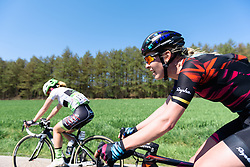 Hannah Barnes (CANYON//SRAM Racing) - Flèche Wallonne Femmes - a 137km road race from starting and finishing in Huy on April 20, 2016 in Liege, Belgium.