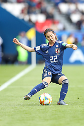 June 10, 2019: Paris, France: Shimizu  of Argentina and Japan game valid for group D of the first phase of the Women's Soccer World Cup in the Parc Des Princes in Paris in France on Monday, 10. (Credit Image: © Vanessa Carvalho/ZUMA Wire)