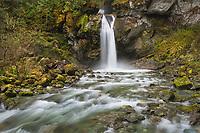 Lazy Bear Falls, Mount Baker-Snoqualmie National Forest, North Cascades Washington