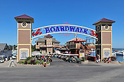 The Boardwalk at Put-in-Bay, on South Bass Island in Ohio.