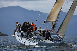 Peelport Clydeport, Largs Regatta Week 2014 Largs Sailing Club based at  Largs Yacht Haven<br /> <br /> GBR5991T, Prime Suspect, Charlie Frize, CCC, Mills 36.