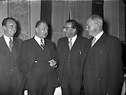 Press Conference as Mr Ben Dunne buys Kelletts Stores .10/06/1959 .