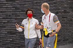 Laeremans Wendy, Desmedt Jef, BEL<br /> Olympic Games Tokyo 2021<br /> © Hippo Foto - Dirk Caremans<br /> 26/07/2021