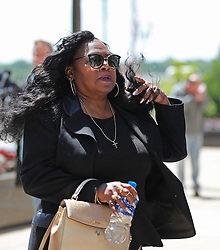 May 31, 2017 - St. Paul, MN, USA - Philando Castile's mother Valerie leaves the Ramsey County Courthouse for lunch break on the second day of jury selection in the trial for her son's death on May 31, 2017 in St. Paul, Minn. Philado Castile was shot by St. Anthony police officer Jeronimo Yanez during a traffic stop. (Credit Image: © Shari L. Gross/TNS via ZUMA Wire)