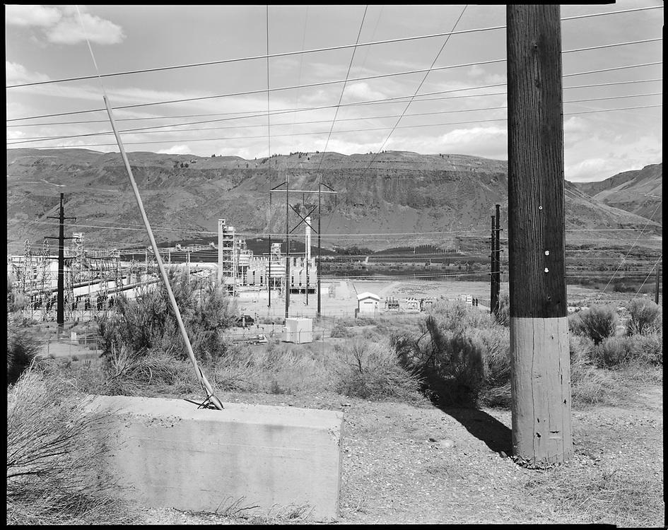 Alcoa Aluminum Plant, Malaga, Washington. Ancestral land of the Wenatchi, Sinkuse and Yakama People