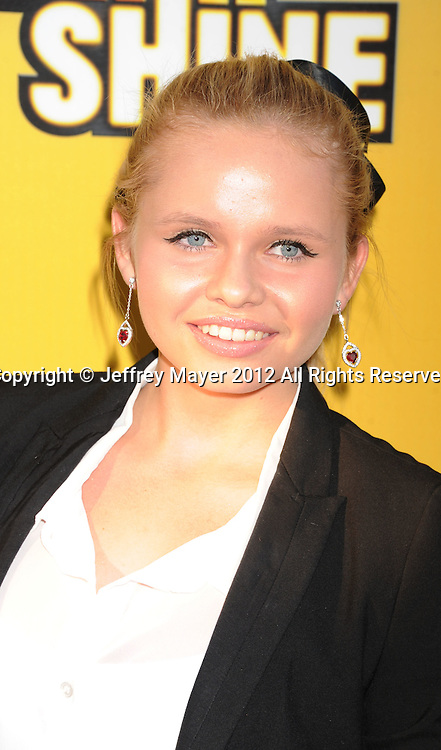 LOS ANGELES, CA - JUNE 05: Alli Simpson attends Disney's 'Let It Shine' Premiere held at The Directors Guild Of America on June 5, 2012 in Los Angeles, California.