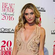 NLD/Amsterdam/20160118 -  Beau Monde Awards 2016, Jessie Jazz Vuijk