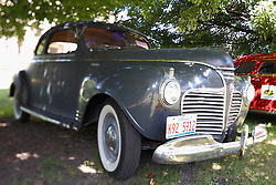 01 August 2015:  Plymouth - 1941 - Larry Harris & Sam Sutton.<br /> <br /> Displayed at the McLean County Antique Automobile Association Car show at David Davis Mansion in Bloomington Illinois