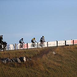 21-08-2020: Wielrennen: NK U23: Drijber<br /> Beklimming VAMberg