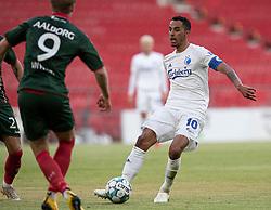 Carlos Zeca (FC København) under kampen i 3F Superligaen mellem FC København og AaB den 17. juni 2020 i Telia Parken, København (Foto: Claus Birch).
