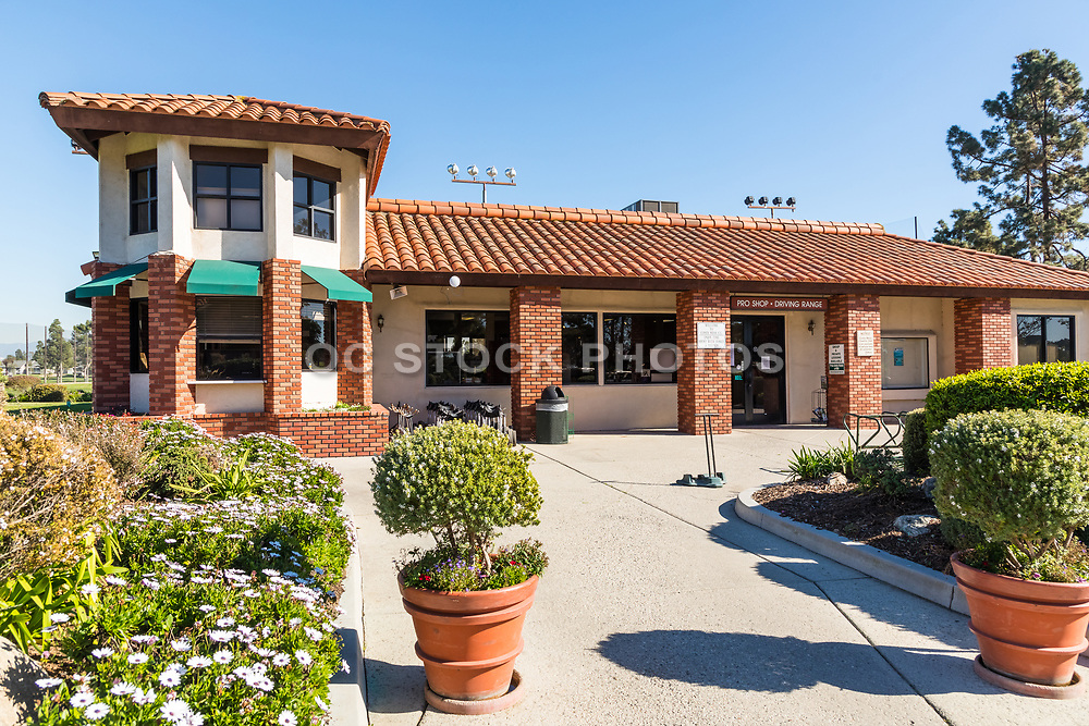 Pro Shop Front Entrance at Costa Mesa Public Golf and Country Club