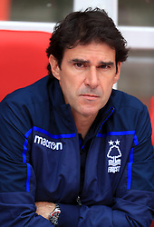 Nottingham Forest's manager Aitor Karanka before the pre-season friendly match at the City Ground, Nottingham.