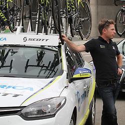 30-08-2017: Wielrennen: Boels Ladies Tour: Arnhem: Orica Scott ploegleider Gene Bates