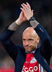 15-05-2019 NED: De Graafschap - Ajax, Doetinchem<br /> Round 34 / It wasn't really exciting anymore, but after the match against De Graafschap (1-4) it is official: Ajax is champion of the Netherlands / Coach Erik ten Hag of Ajax