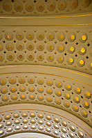 National Gallery, Washington DC. Detail on Union Station ceiling