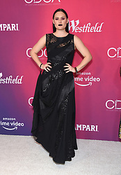 February 19, 2019 - Beverly Hills, California, U.S. - Mary Chieffo arrives for the 21st CDGA (Costume Designers Guild Awards) at the Beverly Hilton Hotel. (Credit Image: © Lisa O'Connor/ZUMA Wire)
