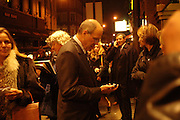 Michael Eisner and Bob Iger, Mary Poppins Gala charity night  in aid of Over the Wall. Prince Edward Theatre. 14 December 2004. ONE TIME USE ONLY - DO NOT ARCHIVE  © Copyright Photograph by Dafydd Jones 66 Stockwell Park Rd. London SW9 0DA Tel 020 7733 0108 www.dafjones.com