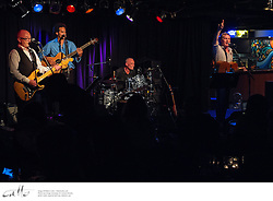 Kiwi singer/songwriters Don McGlashan & Dave Dobbyn perform together at the Basement, Sydney.