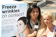 Marketing shoot for Wrinkle Freeze, Manly, Sydney.