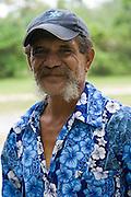 Bird Man George Mateariki, Aitu Island, Cook Islands, Polynesia