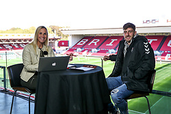 Joe Williams of Bristol City is the guest on Robins TV - Rogan/JMP - 27/09/2020 - Ashton Gate Stadium - Bristol, England - Bristol City v Sheffield Wednesday - Sky Bet Championship.