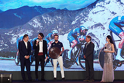 Quickstep Floors receive an award for winning the Worlds Championship Team Time Trial at The UCI Cycling Gala 2018 in Guilin, China on October 21, 2018. Photo by Sean Robinson/velofocus.com