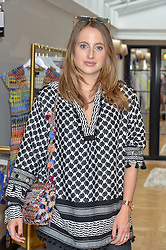 ROSIE FORTESCUE at the launch of the new Salt store at 91 Walton Street, London on 7th July 2016.