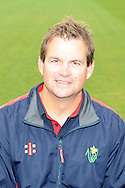 head coach, Matthew Mott. Glamorgan County Cricket Club, season 2012, photocall at the Swalec Stadium in Cardiff. pic by Andrew Orchard