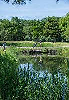 BRIELLE -  Hole 14. Kleiburg , golfbaan.  COPYRIGHT KOEN SUYK